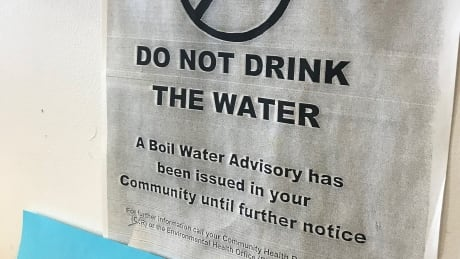 Neskantaga classroom notice