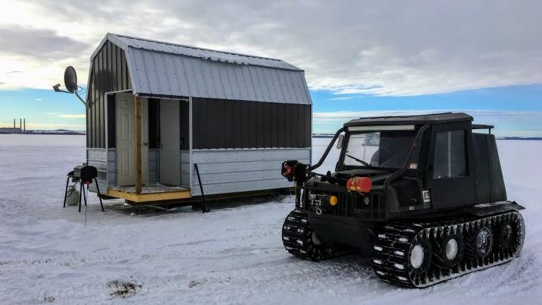 Pimp my shack: Luxury ice fishing a growing trend in Alberta
