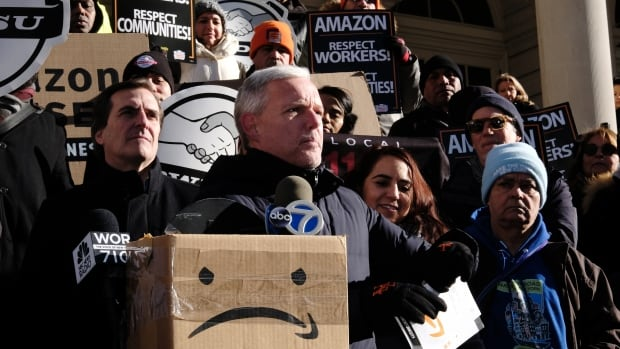 Amazon cancels plans to build second headquarters in N.Y.
