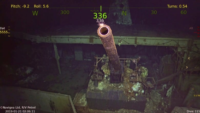WW II aircraft carrier found more than 75 years after it sank in the