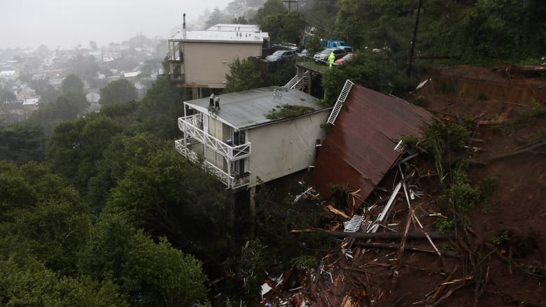 Mudslides and floods hit California