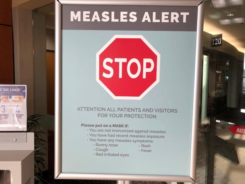 Low vaccination rates, global outbreaks fuel U S  measles
