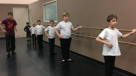All-boys dance class is en pointe in Williams Lake
