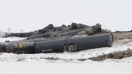 TSB says improved tankers involved in Manitoba derailment that spilled crude