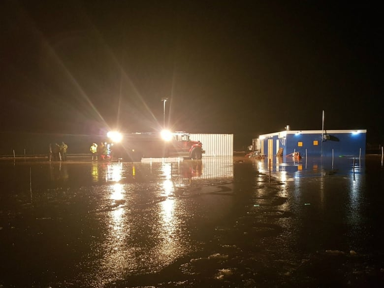 Valley Drive-In hit by 3rd bout of flooding in recent months