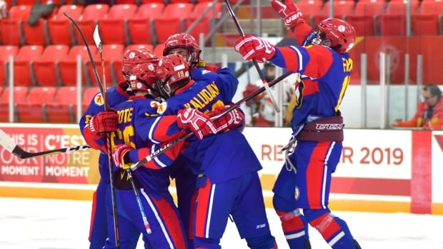 Team Nunavut Canada Winter Games