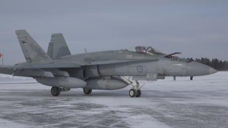 F-18 in Cold Lake