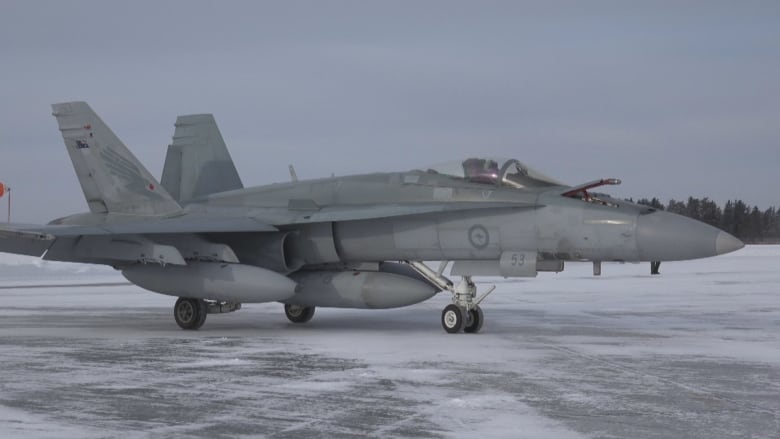 First used Australian fighter jets land in Cold Lake, Alta.