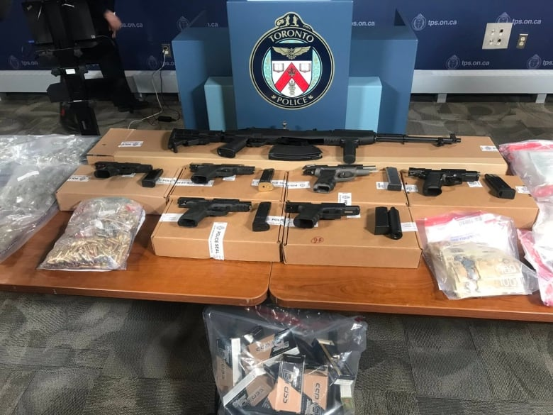 Toronto, Ottawa police put 'significant dent' in drug and firearm ring