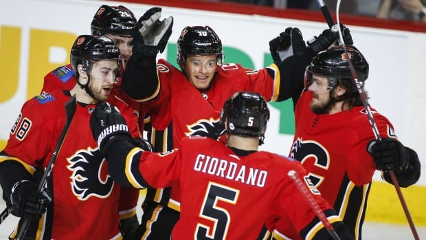 Flames reclaim top spot in Pacific with win over Coyotes
