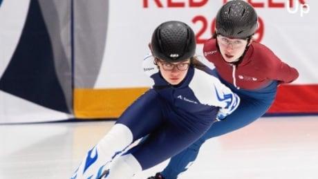 Speed skating sisters rep B.C. at Canada Winter Games