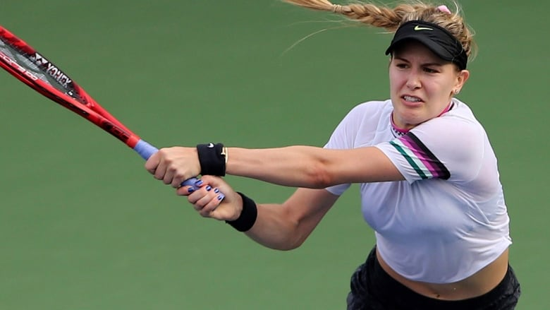 Genie Bouchard Takes Baby Steps In Straight Sets Loss To World No 3