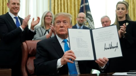 Trump signs directive to create U.S. space force