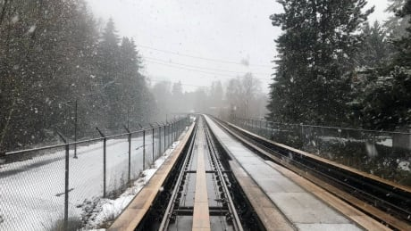 Snowfall could mean slow-going on Metro Vancouver public transit
