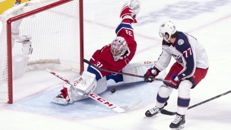 Canadiens snap 4-game skid with win over Blue Jackets