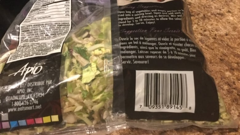 Salad kit recalled in 3 provinces also found in Alberta grocery store