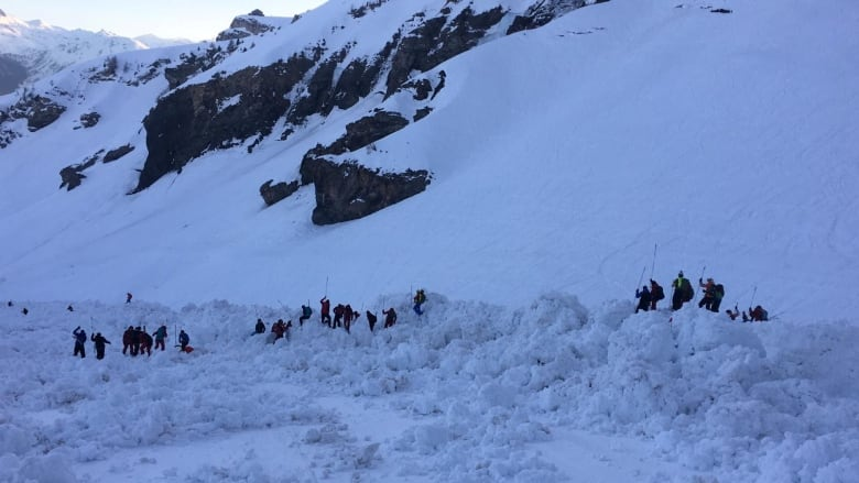 One dead after Swiss avalanche, rescue search paused