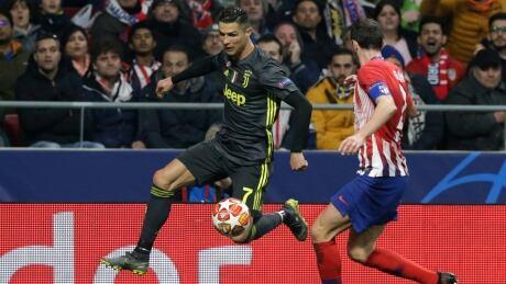 Champions League: Ronaldo held scoreless in Madrid as Atletico beats Juventus