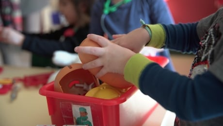 Montreal daycare toys