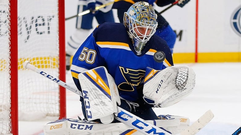 Jordan Binnington From Almost An Afterthought To The Guy In Blues