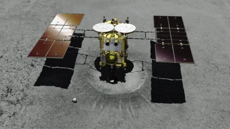 Japanese spacecraft attempts landing on distant asteroid