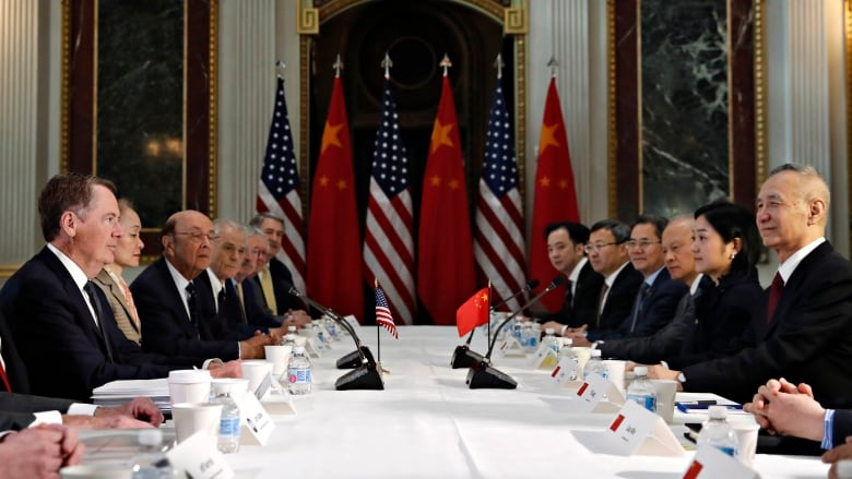 Trump officials meet with Chinese Vice Premier to talk trade agreement
