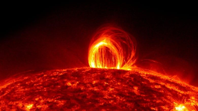 Question - what's it like standing on the surface of the sun ...