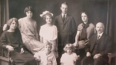 AJ Russell family photo candy