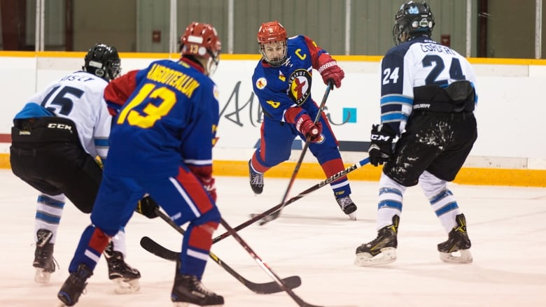 Canada Winter Games Hockey Tournament Wraps Up For Teams N W T And