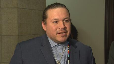 Southern Chiefs' Organization Grand chief Jerry Daniels.