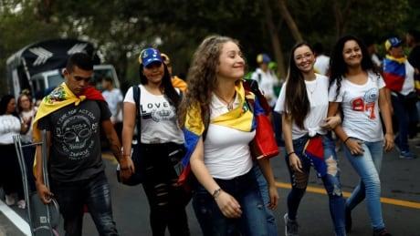VENEZUELA-POLITICS/CONCERT