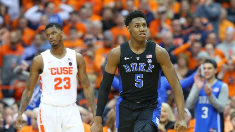 Rj Barrett Leads Top Ranked Duke To Win Over Syracuse Cbc Sports