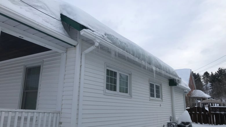 Spike in insurance claims from ice damming, snow load on