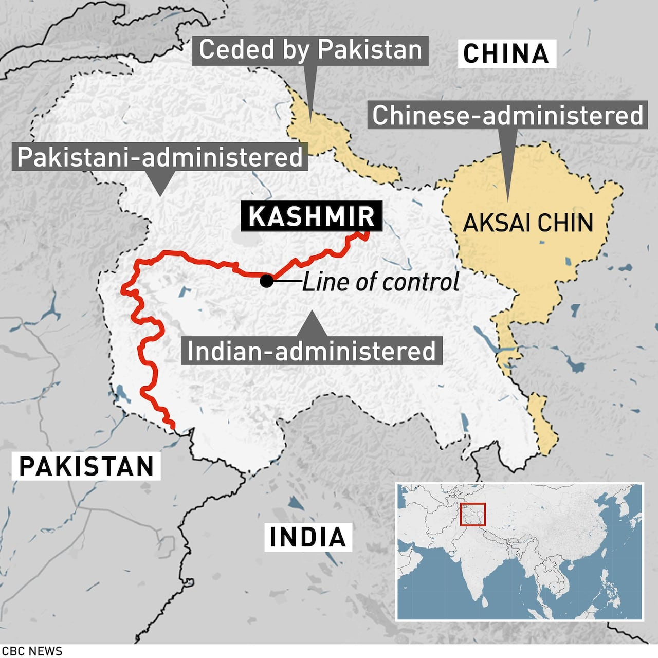 sneakers for cheap cb5ff 5a3a6 Tensions escalate, death tolls differ after India s airstrike on Pakistan  over Kashmir   CBC News