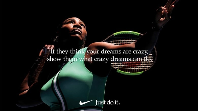 buy online 9e261 5477d A new Nike commercial featuring Serena Williams and other trailblazing  female athletes tackles gender stereotypes in sport and is being heralded  online for ...