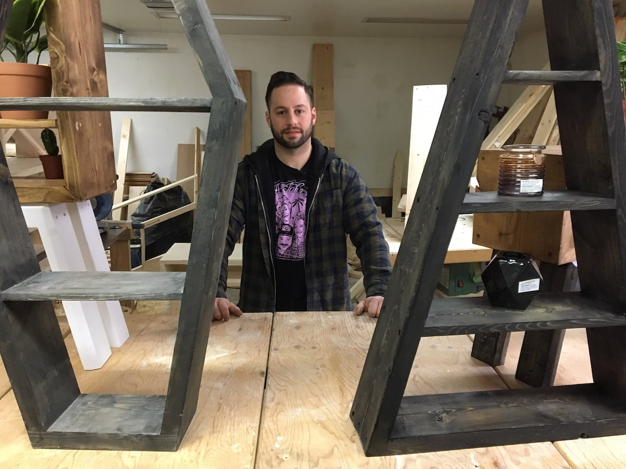 Imperfect Condition Edmonton Woodworker Shapes Furniture