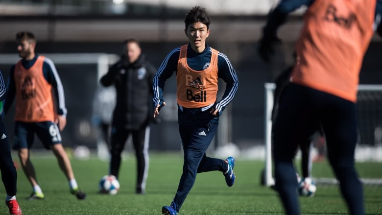 d30190fce10 Vancouver Whitecaps midfielder Inbeom Hwang is one of 15 new players signed  by the club in an offseason roster overhaul. (Darryl Dyck   The Canadian  Press)
