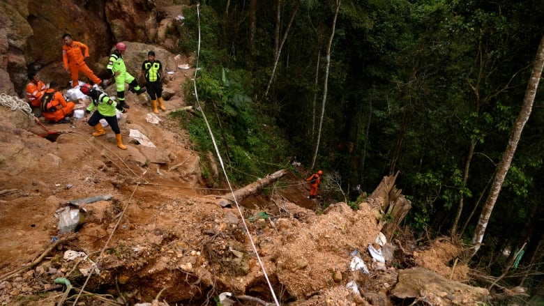 Indonesia ends search for victims of gold mine collapse