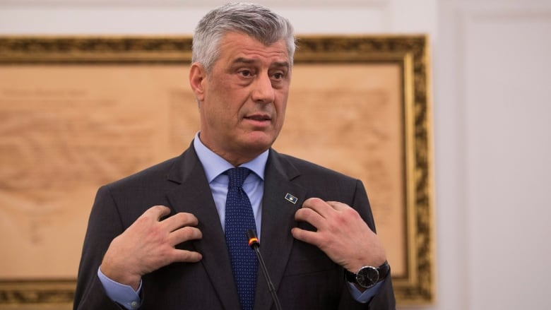 Kosovo president sours on idea of land swap with Serbia | CBC News