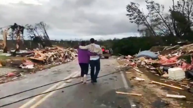Seven members of one family killed in deadly Alabama tornadoes