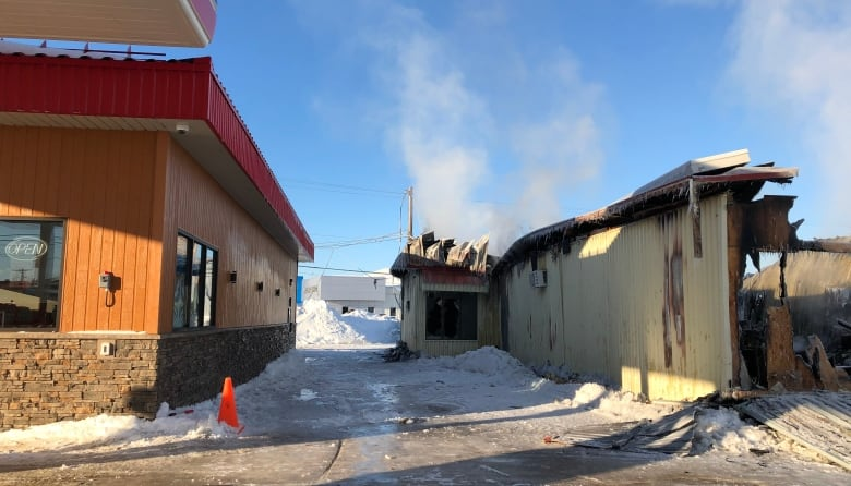 Crews Concentrated On Stopping The Flames From Spreading