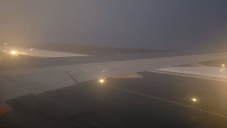 Flights resume at Halifax airport after plane slides off tarmac