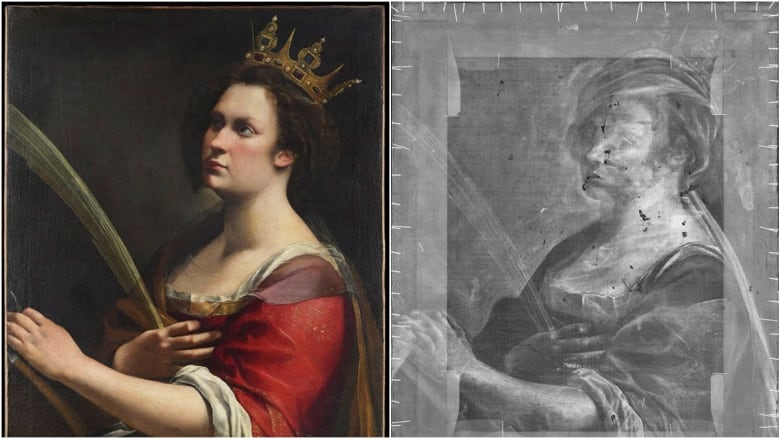 X Ray Reveals Hidden Painting Under Baroque Masterpiece