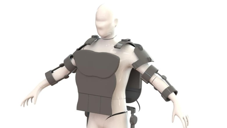An exoskeleton for jobs that require the brains of a human and the body of a robot