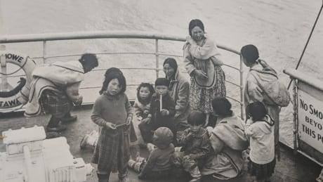 CD Howe TB ship - Inuit