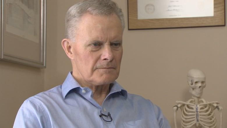 Dr. Douglas Smith, a Fredericton-based physical medicine ...