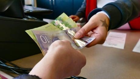 Manitoba budget stock photo cash
