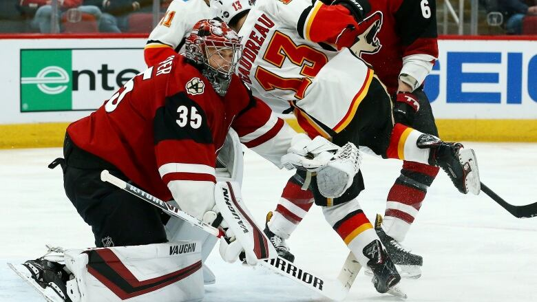 Flames Losing Skid Stretches To 4 As Kuemper Shuts Out Calgary