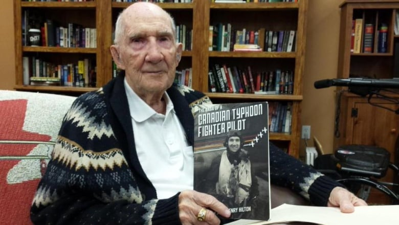 Jack Hilton with book