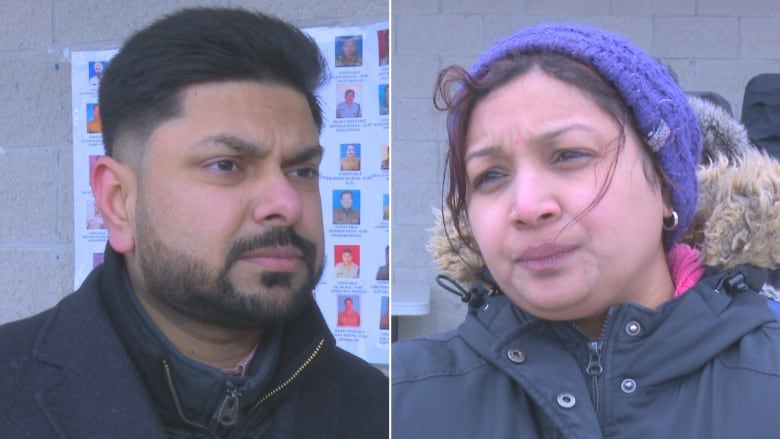 Dhaval Petrolwala left and Roopa Tharuvai say it's important to spread the message of peace